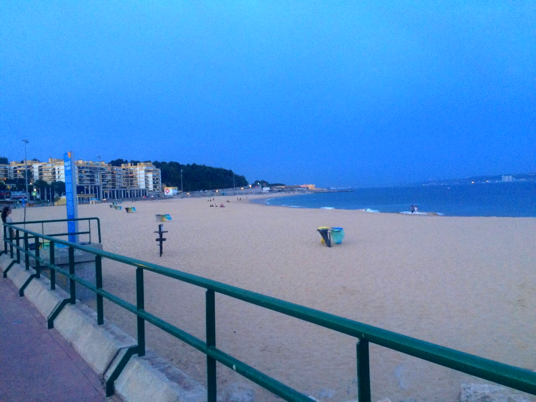 5. Oeiras beach picture by mandyvictoria