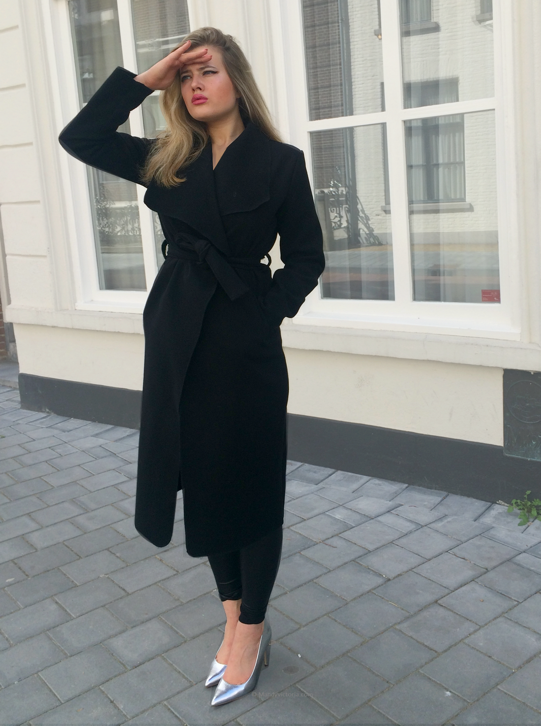 Black coat copyright mandy victoria