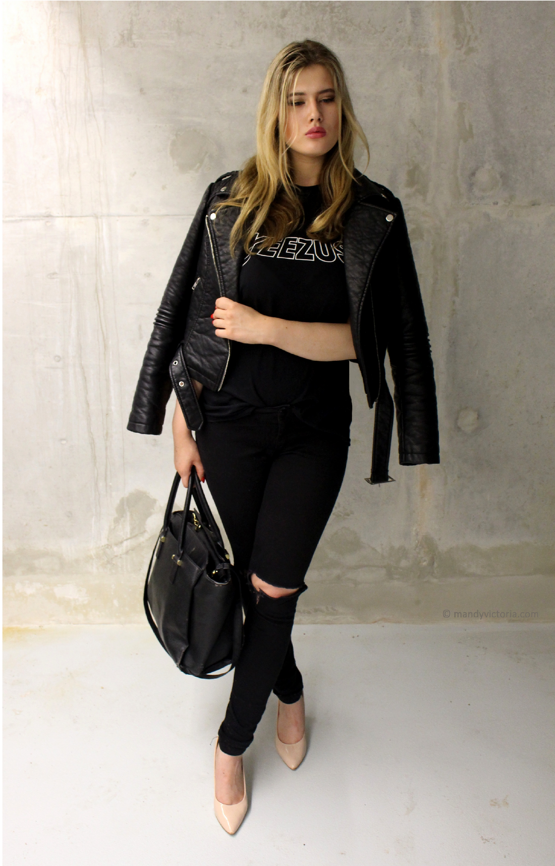 Yeezus outfit, copyright Mandy Victoria 2