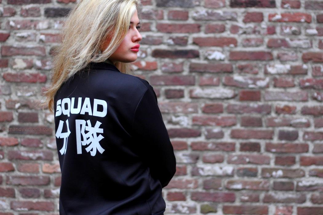 Squad bomber copyright mandy victoria